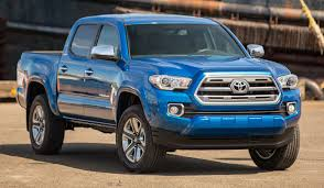 Tacoma Redesign Rugged Toyota Tacoma Midsize Pickup Returns With New Design New