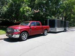 Dodge Ram Ecodiesel - ecodiesel towing test suspension sag mpg power and cooling