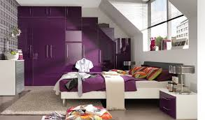 Purple Bunk Beds Bunk Beds Combined Purple And Grey Bedroom Bright Brown Wood Bed
