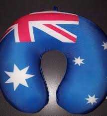 Austrslia Flag Australian Flag Travel Neck Pillow From Australia What U0027s It Worth