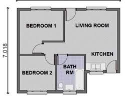 two bed room house modern two bedroom house plans home decor 2018