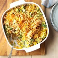 cheesy cheddar broccoli casserole recipe taste of home