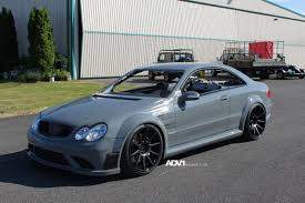 mercedes clk amg black series tuned mercedes clk63 amg black series rides on adv1 wheels 7 jpg