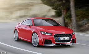 audi tt m audi s just revealed tt rs is only a fraction slower than its