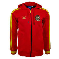 genuine adidas originals men u0027s u0027espana u0027 full zip hoodie top