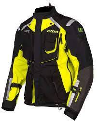 mens hi vis waterproof cycling jacket klim badlands hi vis jacket revzilla