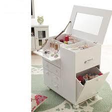 Portable Vanity Table Small Dressing Table Design Ideas With Folding Mirror Ilginc