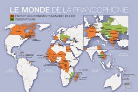 A Map Of France by Map Of French Speaking Countries Free Printable Maps