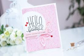 Simon Says Stamp February 2016 Card Kit Direct To Paper Inking For