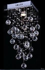elegant style crystal ceiling lights modern ceilling lamp length
