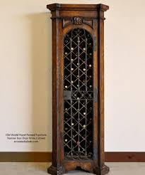 kitchener wine cabinets as beautiful as it is hard working this old world iron door wine