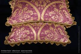 Home Decorative Accents Scalamandre Fortuny Print Lee Jofa Velvet Custom Pillows