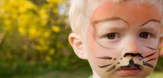 Monster Faces For Halloween Choosing Safer Face Paints For The Kids Greenopedia