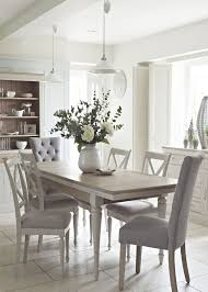 dining room white leather chairs and table 2320 within brilliant