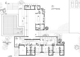 floor modern minimalist house floor plans