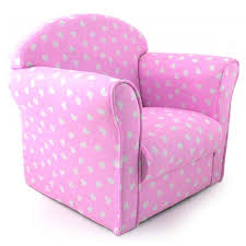 Pink Armchair Kids Childrens Fabric Armchair Sofa Seat Stool Childrens Tub Chair