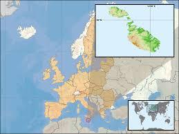 Malta World Map Malta Wikipedia