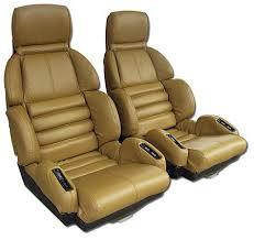 corvette seat covers c4 1989 1990 corvette sport seat leather seat covers set