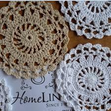 online shop vintage cup mat handmade crochet placemat round