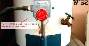 water heater will not light gas water heater pilot light wont stay lit turn off source