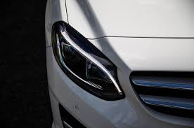 mercedes headlights mercedes benz b class design styling autocar