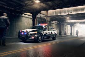 police car ford police responder hybrid sedan concept