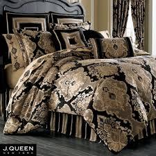 Black Bed Sets Bradshaw Black Comforter Bedding By J Queen New York