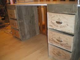 caisse de bureau faire un bureau en bois fabulous ma avait besoin duun bureau