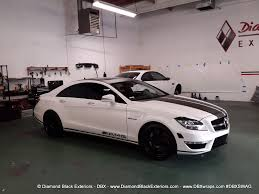 mercedes customized 2013 mercedes cls63 customized by dbx black