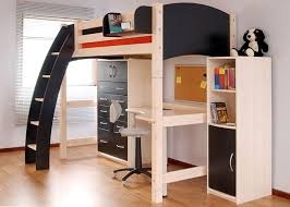 Loft Bed With Futon And Desk Captivating Size Loft Bed With Futon With Best 25 Bunk Bed