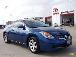 2008 nissan altima coupe 2008 azure blue metallic nissan altima 2 5 s coupe 4408559 photo