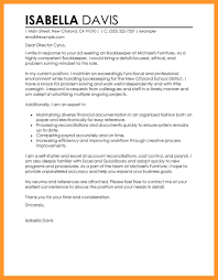 bookkeeper cover letter samples gallery cover letter sample
