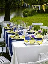 Summer Table Decorations Picnic Table Decorations Image Library