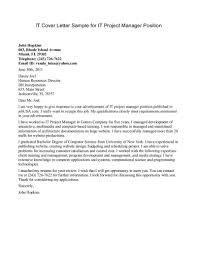 sample cover letter for a manager position guamreview com
