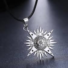 man accessories necklace images Mosu hot anime d gray man silver metal necklace allen logo pendant jpg