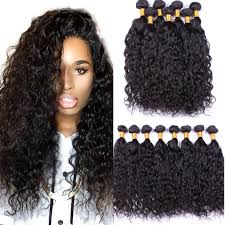 human hair extension aliexpress buy 4 bundles malaysian hair water wave 7a