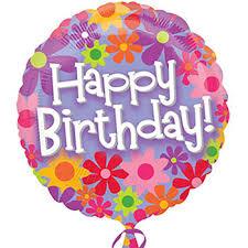 birthday balloons happy birthday at dollartree