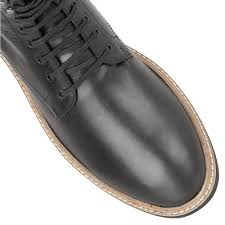 buy men u0027s black leather frank wright munros ankle boot online