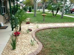 Garden Barrier Ideas Landscaping In Front Of Fence Front Garden Boundary Fence Ideas