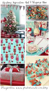 89 best christmas red u0026 turquoise theme images on pinterest