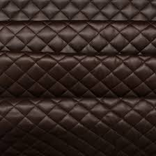 Cushion Padding Materials Quilted Leather Diamond Padded Cushion Faux Leather Interior