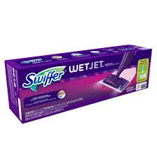 Can You Use Swiffer On Laminate Floors Swiffer Wet Jet Mopping Starter Kit Walmart Com