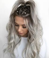 silver hair 41 brilliant ways to wear gray and silver hair color roots