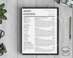 resume templates that stand out stand out shop modern 2 page resume template for microsoft word