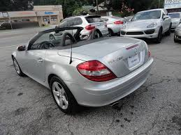 mercedes roswell ga 2007 mercedes slk slk 280 2dr convertible in roswell ga car