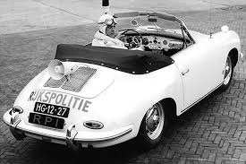 convertible porsche 356 dutch porsche 356 police car comes up for auction