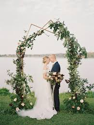 wedding arches dallas tx wedfully yours events design