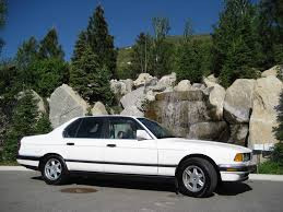 1988 bmw 7 series white bmw 7 series in utah for sale used cars on buysellsearch