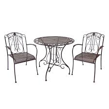 Warehouse Patio Furniture Great Bistro Settings Outdoor Furniture Find Marquee 3 Piece