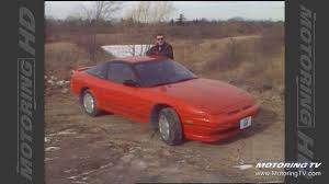 nissan 240sx hatchback modified throwback thursday 1989 nissan 240sx youtube